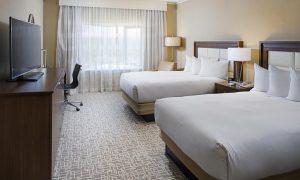 Hilton Boston Dedham Bedroom