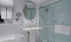 Garden City Hotel Conversion From Tub to Custom Built Shower