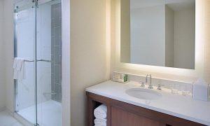 Hilton Boston Dedham Conversion From Tub to Custom Built Shower