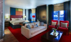 Hotel Hayden Living Room