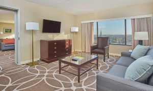 Hyatt Lexington Presidential Suite Living Room