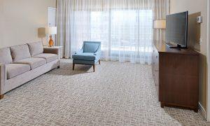 Hilton Boston Dedham Living Room